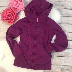 Lululemon Scuba purple hoodie size 2